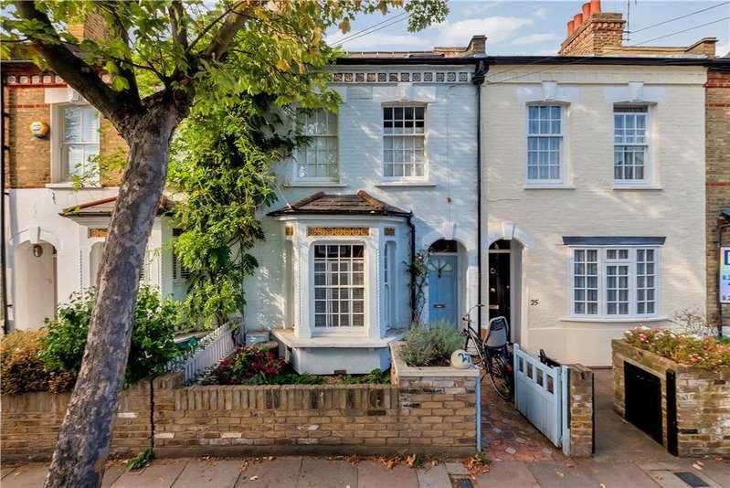 3 Bedrooms Terraced House for sale in Glebe Street, Chiswick, London, W4