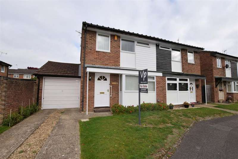 3 Bedrooms Semi Detached House for sale in Albury Gardens, Calcot, Reading