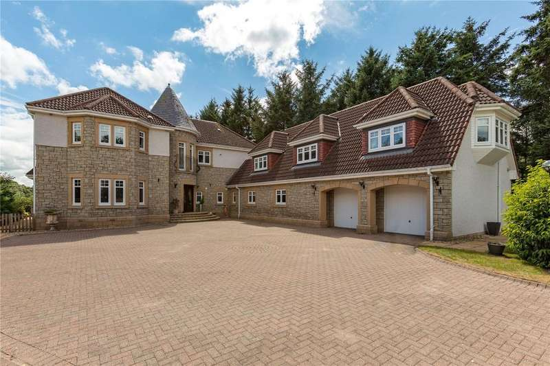 6 Bedrooms Detached House for sale in Whispering Pines, 7 Castle Knowe Way, Cardrona, Peebles