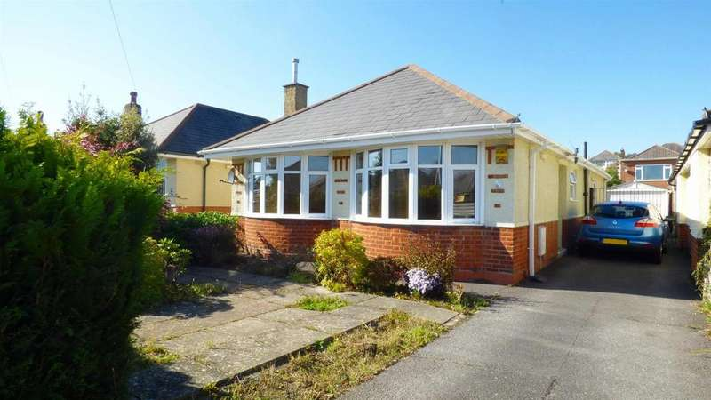 3 Bedrooms Detached Bungalow for sale in Noel Road, Ensbury Park, Bournemouth
