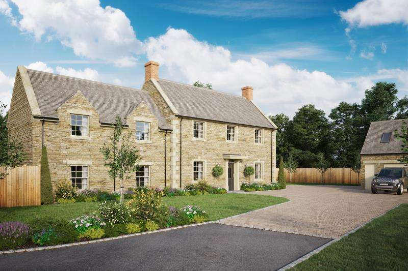 5 Bedrooms Detached House for sale in Woodside House, Woodstock Road, Charlbury, Chipping Norton, Oxfordshire