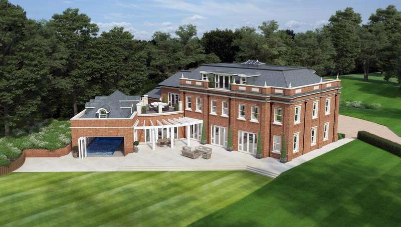 6 Bedrooms Detached House for sale in Pipers End, Wentworth Estate, Virginia Water