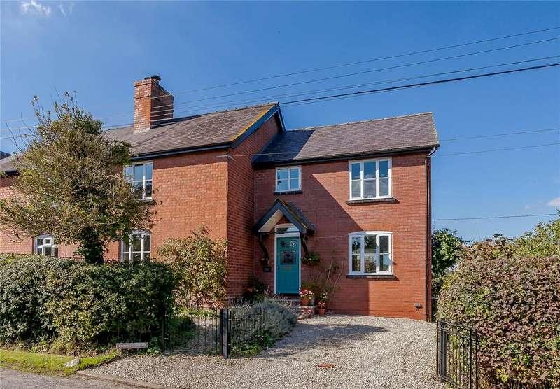 3 Bedrooms Unique Property for sale in Somerset Cottages, Little Marcle, Ledbury, Herefordshire, HR8