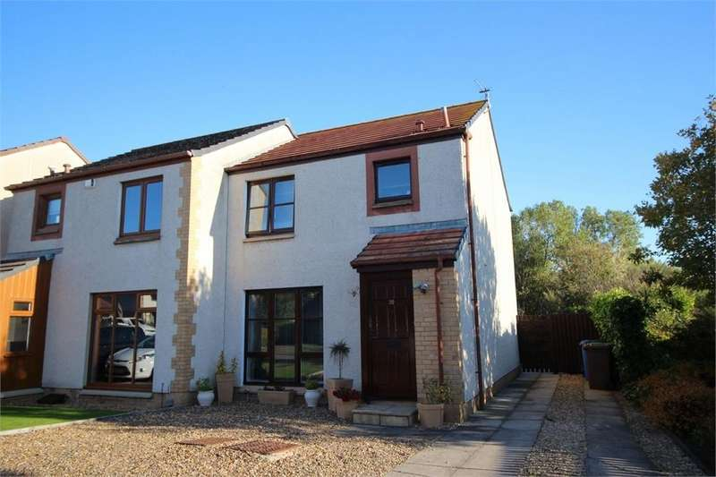 3 Bedrooms Semi Detached House for sale in Station Park, EAST WEMYSS, Fife