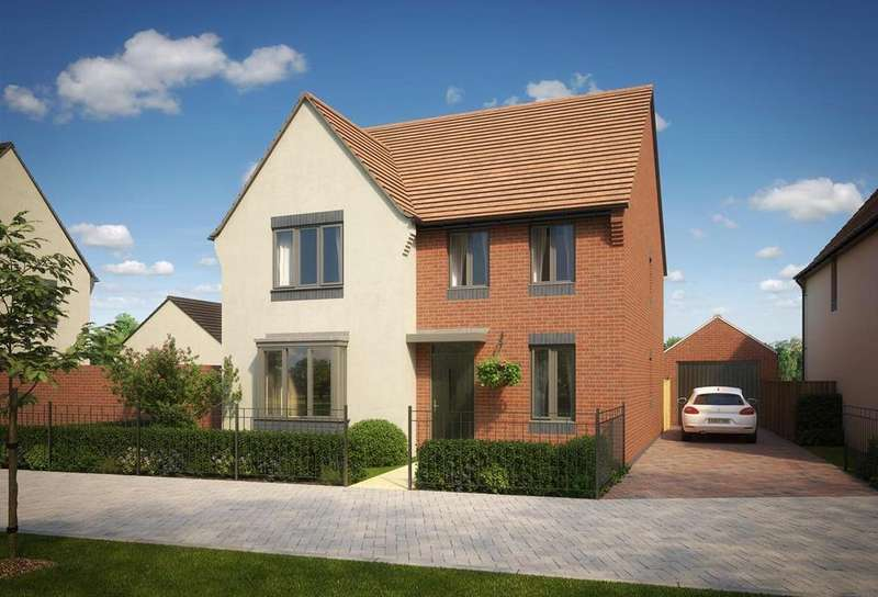4 Bedrooms Detached House for sale in Eastfield,, Telford, Shropshire