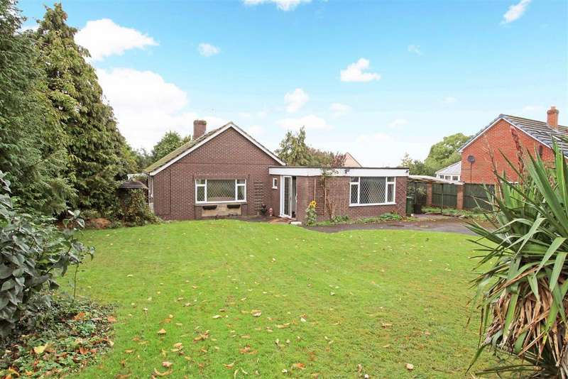 5 Bedrooms Bungalow for sale in Melrose Drive, Shrewsbury