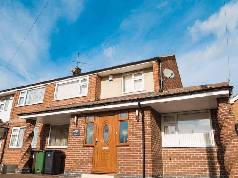 5 Bedrooms Semi Detached House for sale in Thorndale Road, Leicestershire, LE4
