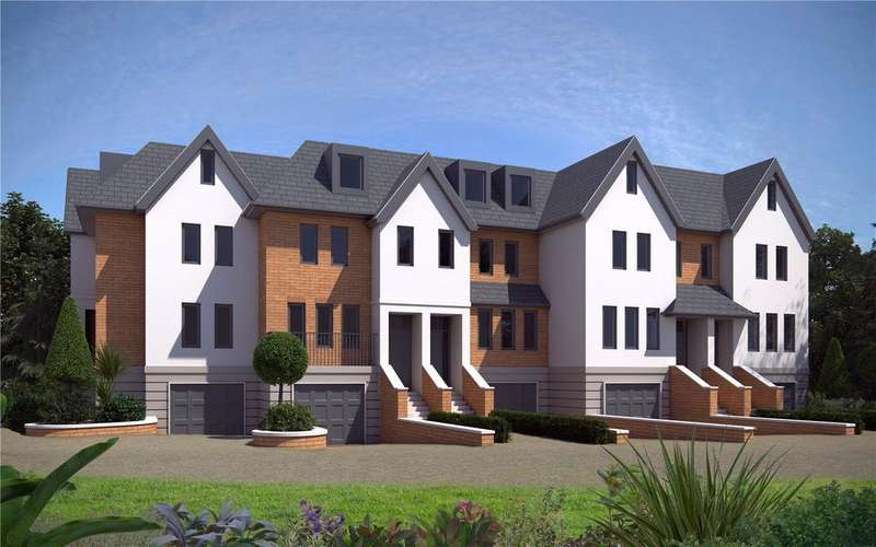 4 Bedrooms End Of Terrace House for sale in Bishops Down Mews, Bishops Down Park Road, Tunbridge Wells, Kent, TN4