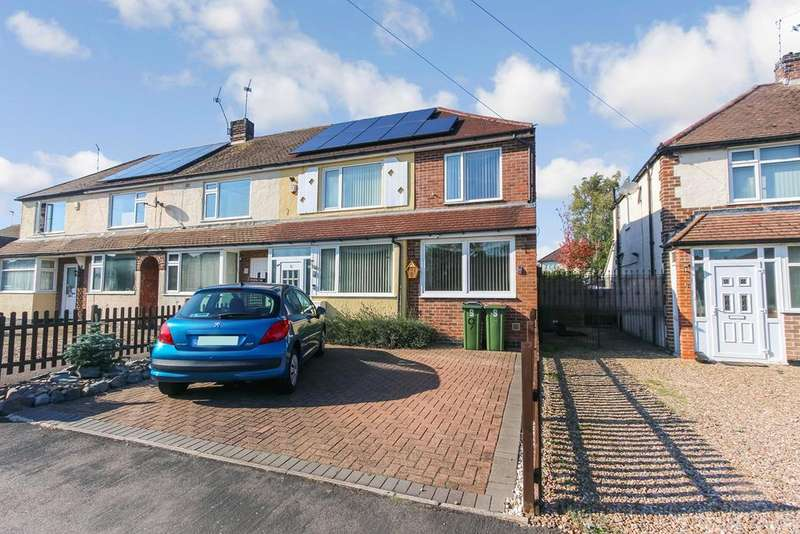 3 Bedrooms Town House for sale in Branting Hill Avenue, Glenfield, Leicester, LE3
