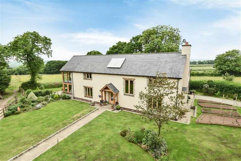 4 Bedrooms Detached House for sale in Spreyton, Crediton, Devon, EX17
