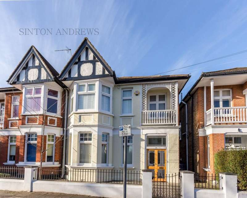 4 Bedrooms Semi Detached House for sale in King Edwards Gardens, Ealing / Acton Borders, W3