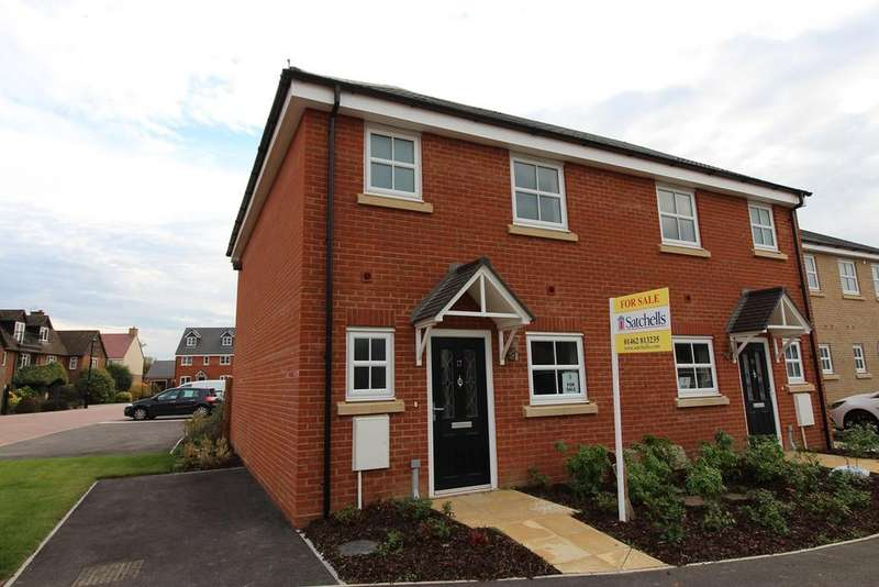 3 Bedrooms Semi Detached House for sale in Herberts Meadow, Clifton, SG17