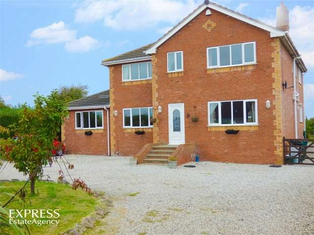 5 Bedrooms Detached House for sale in Green Avenue, Kinmel Bay, Rhyl, Conwy