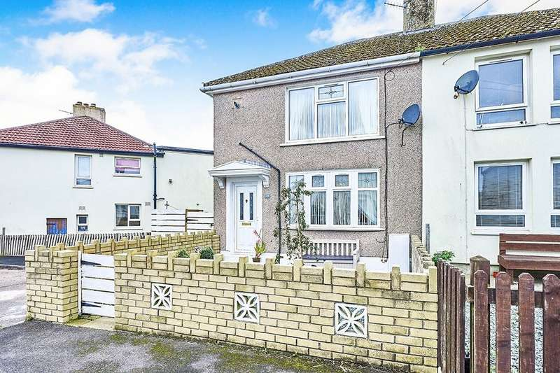 3 Bedrooms Semi Detached House for sale in Fleswick Avenue, Whitehaven, CA28