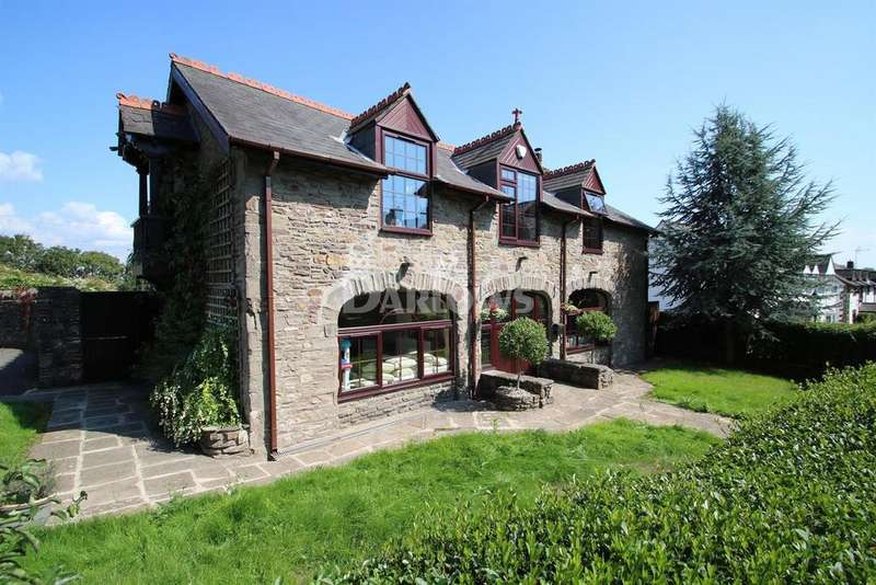 4 Bedrooms Detached House for sale in The Granary, Bridge Road, Old St Mellons, Cardiff