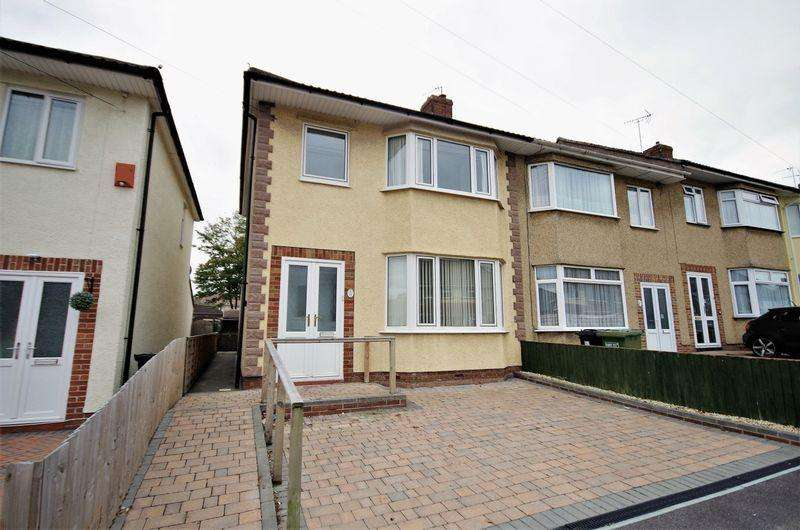 3 Bedrooms End Of Terrace House for sale in Worthing Road, Patchway, Bristol