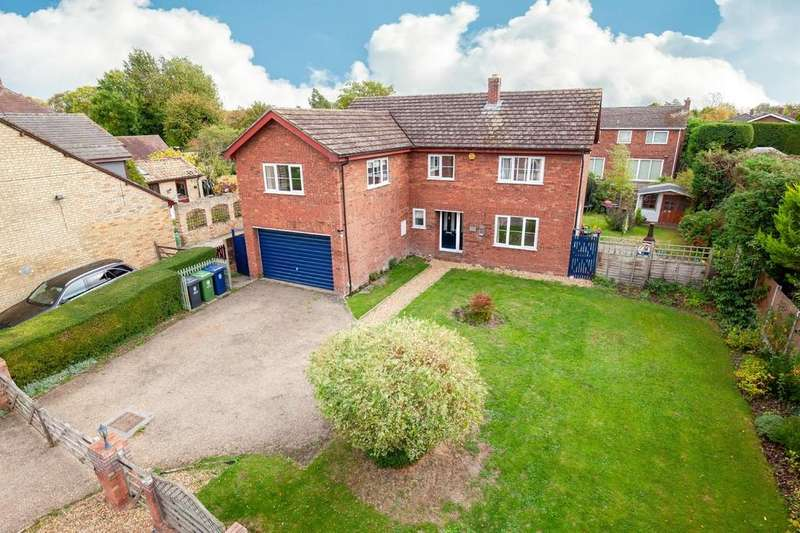 5 Bedrooms Detached House for sale in Town Green Road, Orwell, Royston