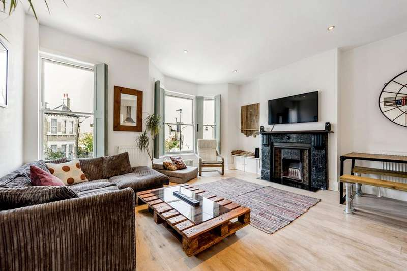 2 Bedrooms Flat for sale in Arodene Road, London, London SW2