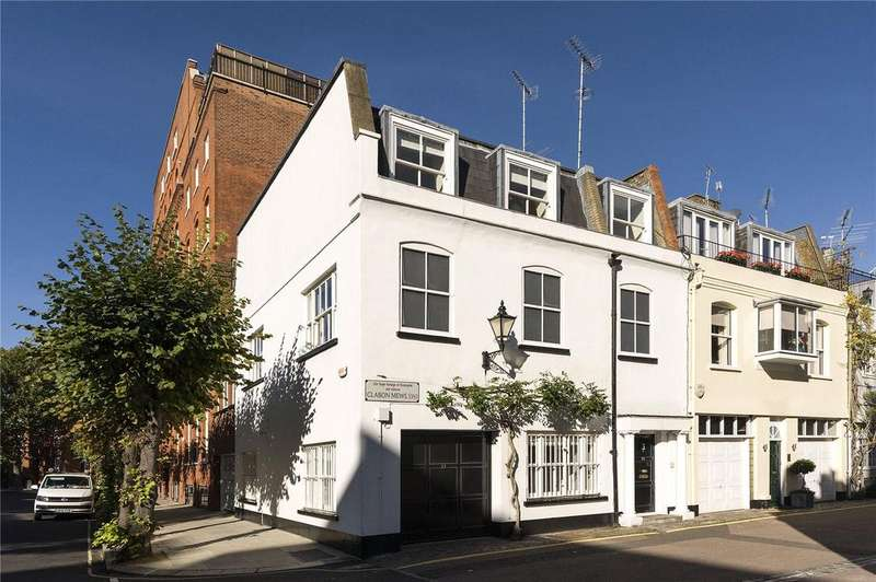 5 Bedrooms Mews House for sale in Clabon Mews, London, SW1X