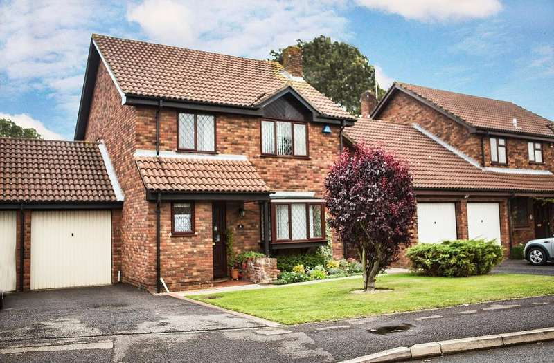 4 Bedrooms Link Detached House for sale in Westminster Way, Lower Earley, Reading