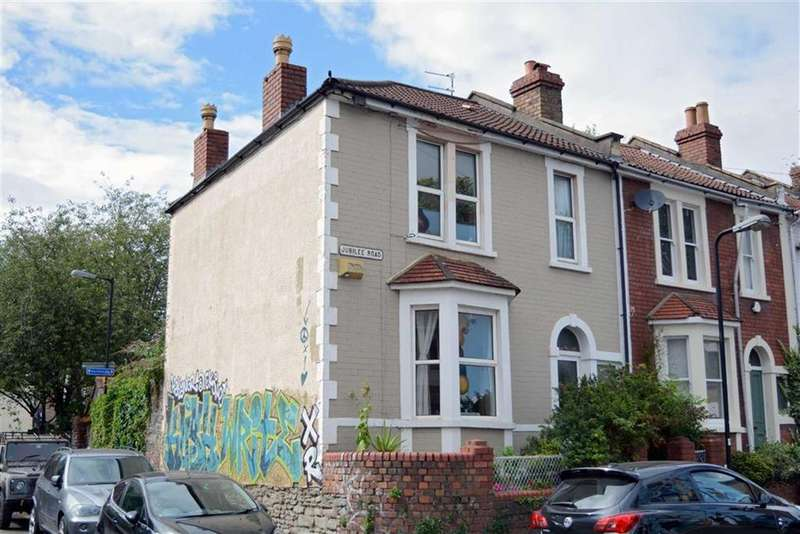 3 Bedrooms End Of Terrace House for sale in Jubilee Road, Bristol