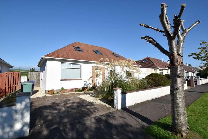 5 Bedrooms Detached Bungalow for sale in 45 Hunter Crescent, Troon, KA10 7AH
