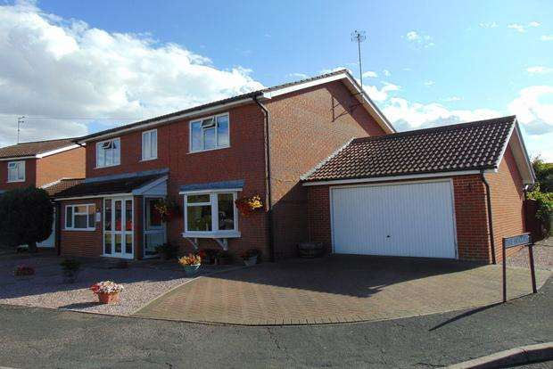 4 Bedrooms Detached House for sale in Berryfield, March, PE15