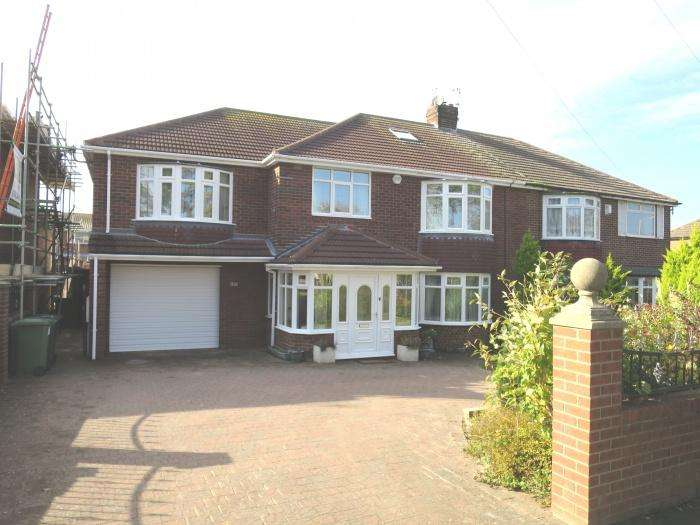 4 Bedrooms Semi Detached House for sale in King George Road, South Shields, Tyne and Wear,