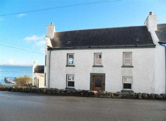 3 Bedrooms Terraced House for sale in 13 Main Street, Port Charlotte, Isle of Islay, PA48 7TX