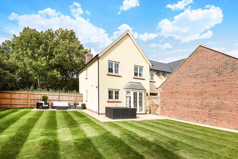 4 Bedrooms Semi Detached House for sale in Garden Fields, Offley, Hitchin, SG5