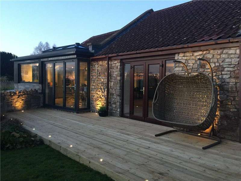 4 Bedrooms Detached House for sale in Stowey, Bishop Sutton, Bristol, North Somerset, BS39