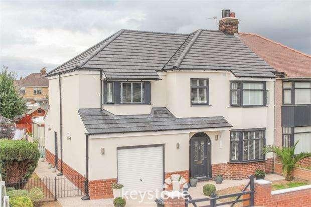4 Bedrooms Semi Detached House for sale in Caernarvon Close, Shotton, Deeside. CH5 1AR