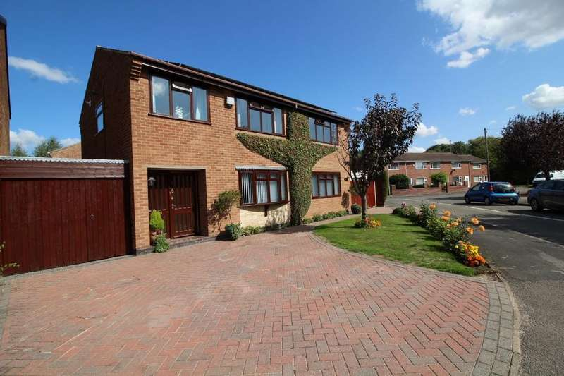 5 Bedrooms Detached House for sale in Fleming Close, Loughborough