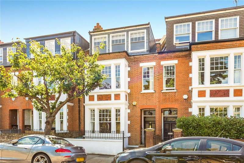 5 Bedrooms Terraced House for sale in Balmuir Gardens, London, SW15