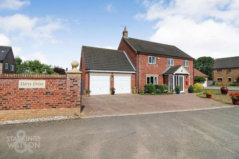 4 Bedrooms Detached House for sale in Dorrs Drive, Watton, Thetford