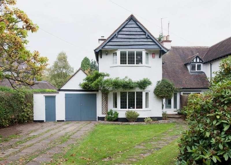 3 Bedrooms Semi Detached House for sale in Aldridge Road, Little Aston