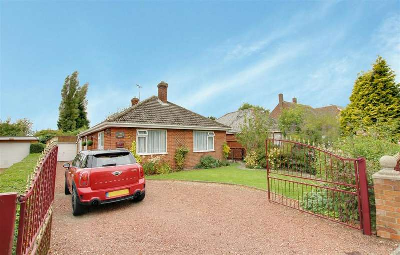 2 Bedrooms Detached Bungalow for sale in Main Road, Willoughby, Alford