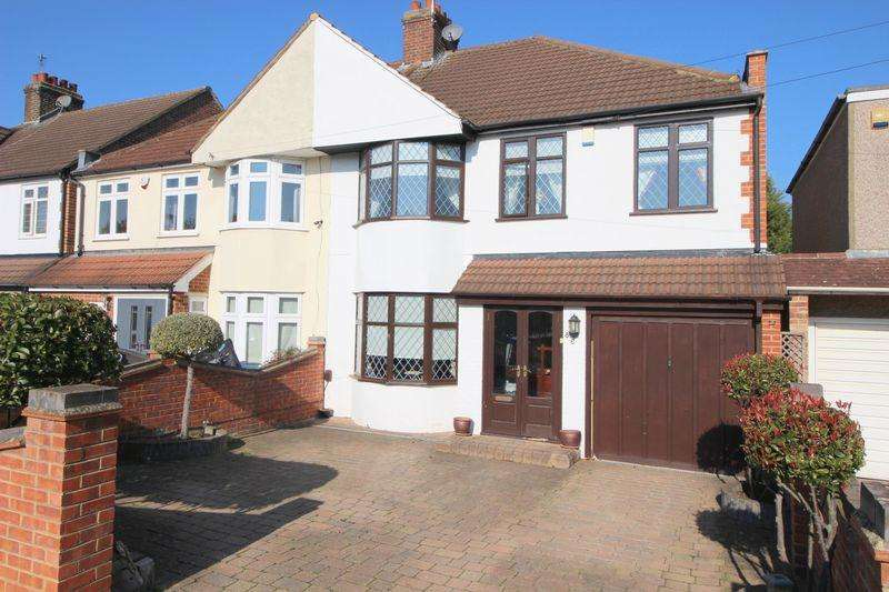 4 Bedrooms Semi Detached House for sale in Harland Avenue, Sidcup DA15 7PQ