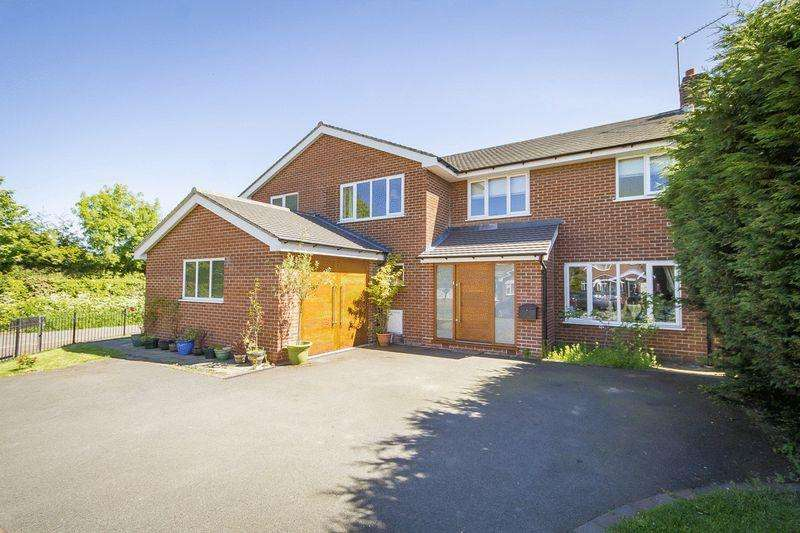 5 Bedrooms Detached House for sale in LAWN AVENUE, ETWALL
