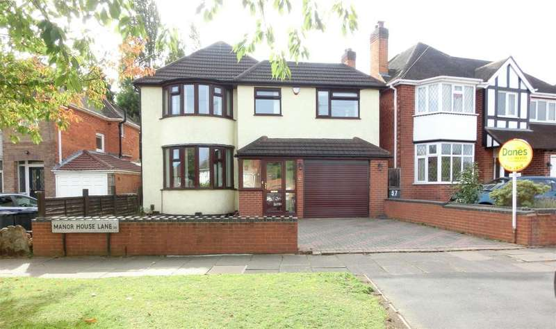 4 Bedrooms Detached House for sale in Manor House Lane, Birmingham