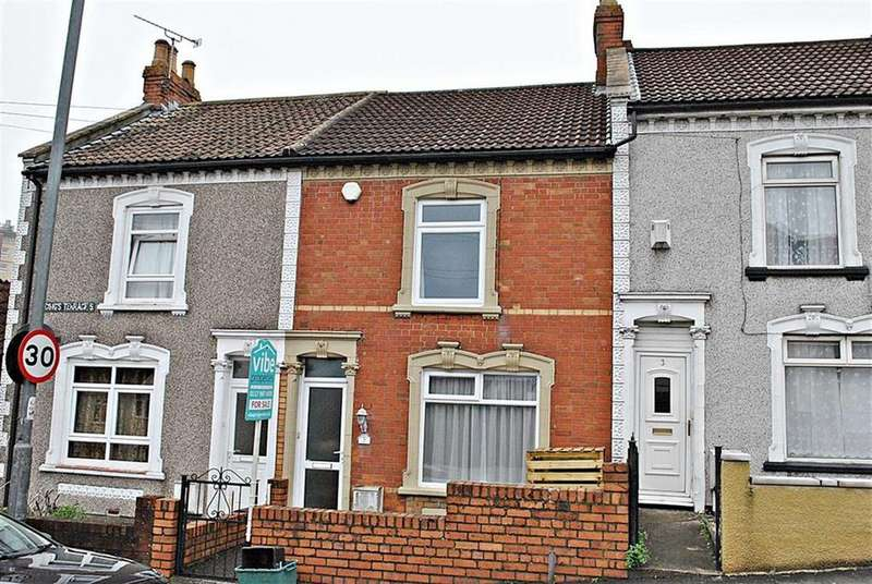 2 Bedrooms Terraced House for sale in Harding Terrace, St George, Bristol