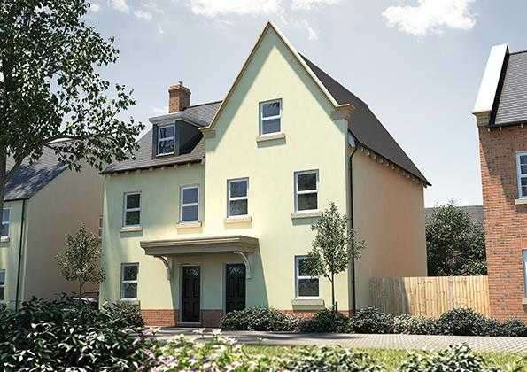 3 Bedrooms Semi Detached House for sale in The Holnicote, Seabrook Orchard, Topsham