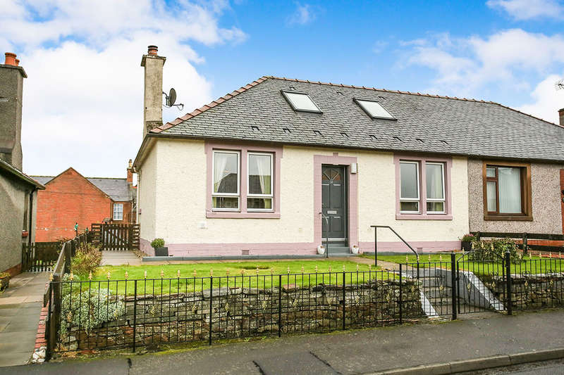 3 Bedrooms Semi Detached Bungalow for sale in Kinnell Street, Thornhill, DG3