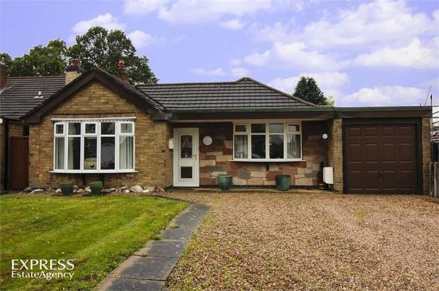 2 Bedrooms Detached Bungalow for sale in Spinney Road, Burbage, Hinckley, Leicestershire