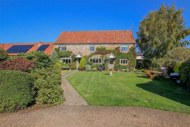 4 Bedrooms Detached House for sale in 1 Church Farm Barns, Gayton