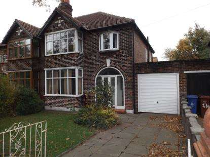 3 Bedrooms Semi Detached House for sale in Kingsway, Burnage, Manchester, Greater Manchester