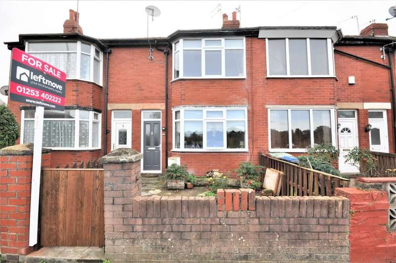 2 Bedrooms Terraced House for sale in Bardsway Avenue, Blackpool, Lancashire, FY3 8JP