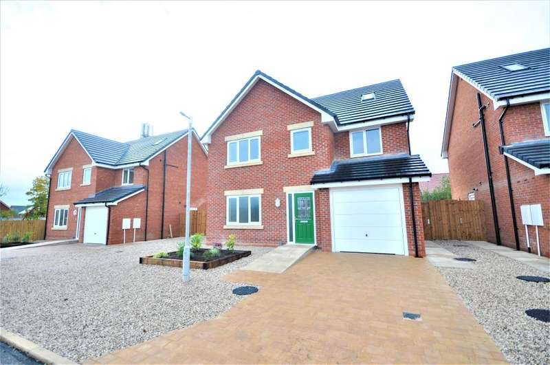 5 Bedrooms Detached House for sale in Plot 6, The Burtons, Lytham Road, Warton, Preston, Lancashire, PR4 1AD