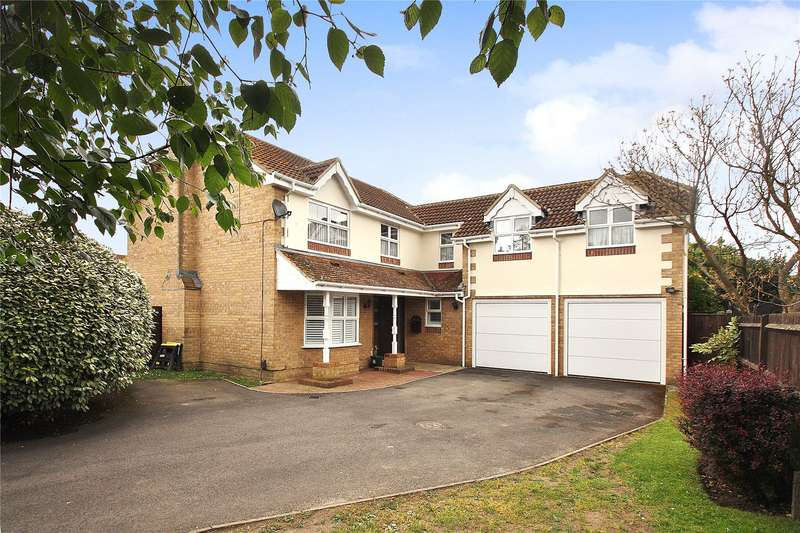 5 Bedrooms Detached House for sale in Percheron Drive, Knaphill, Woking, Surrey, GU21