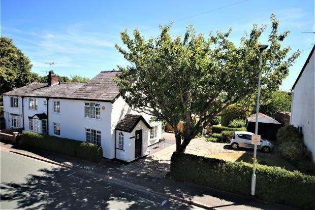 3 Bedrooms Semi Detached House for sale in Manchester Road, Hollins Green, WA3